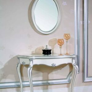 Consola cu oglinda White Princess