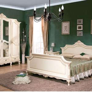 Dormitor Royal Crem