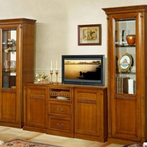 Vitrina inalta 1 usa Sufragerie Romantique Lux M